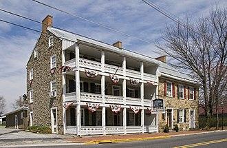Fairfield, Pennsylvania - The historic Fairfield Inn