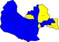 Fareham 2008 election map.png