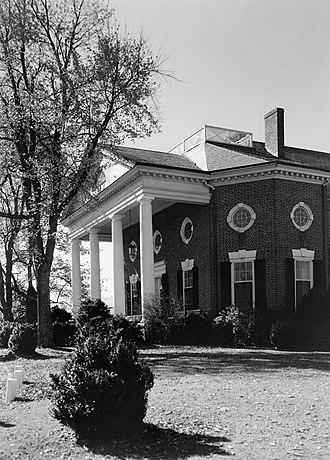 Farmington (Albemarle County, Virginia) - Farmington, HABS Photo