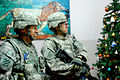 Father and Son enjoy holidays together - in Iraq DVIDS236291.jpg