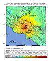 February 1971 San Fernando earthquake intensity USGS.jpg