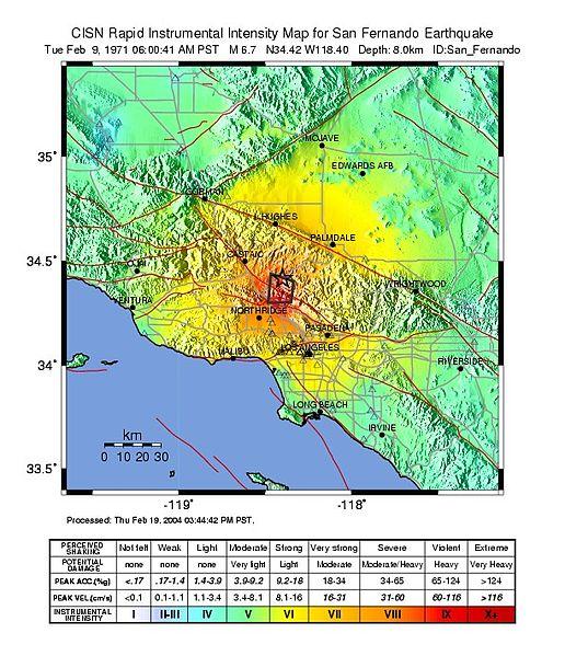 San Fernando Earthquake