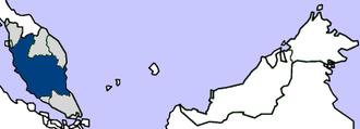 Federated Malay States - Federated Malay States in British Malaya