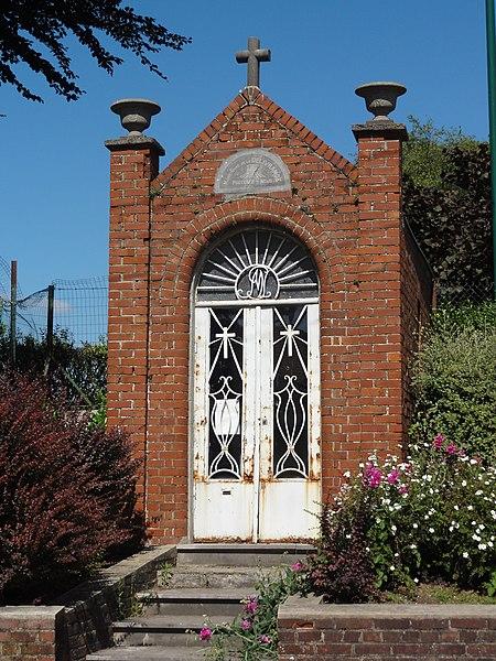 Feignies (Nord, Fr) chapelle N.D. de Délivrance