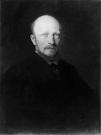 Douglas Volk - Dr. Felix Adler (1914), Metropolitan Museum of Art