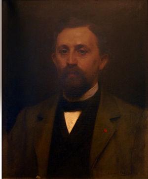 Ferdinand Dutert - Ferdinand Dutert in 1891 by Édouard Sain
