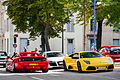 Ferrari F355, Audi R8 ^ Lamborghini Murciélago LP-640 - Flickr - Alexandre Prévot.jpg