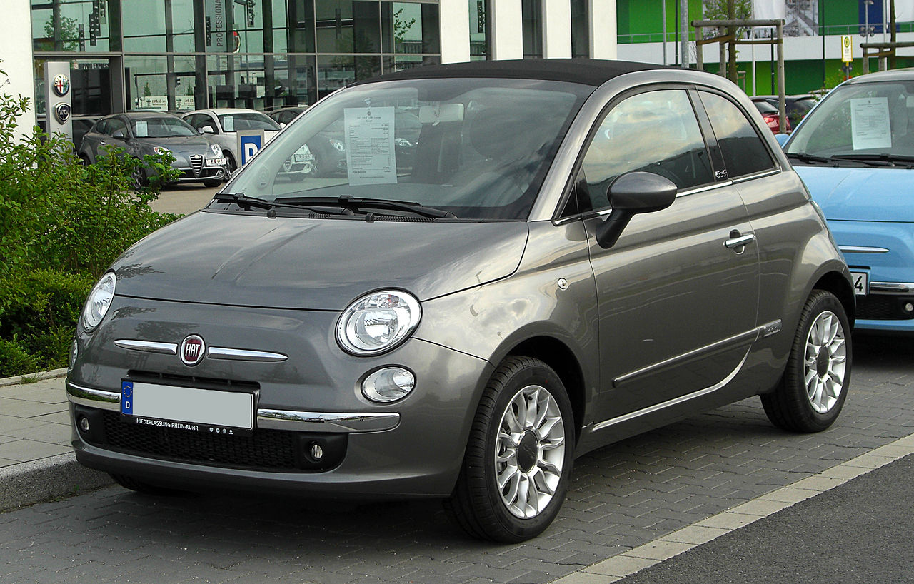 file fiat 500c 1 2 8v lounge frontansicht 16 april 2011 d wikipedia. Black Bedroom Furniture Sets. Home Design Ideas