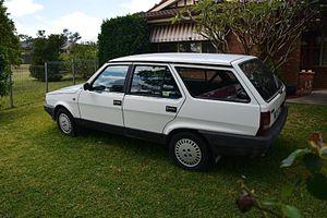 Fiat Regata - Fiat Regata 100S Weekend