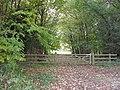 Field gate off Akeman Street - geograph.org.uk - 1570617.jpg