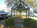Fire bell on E Broad St., Eufaula.JPG