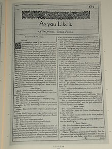 As You Like It - Wikipedia, the free encyclopedia