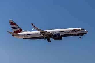 Comair (South Africa) - Comair Boeing 737-800  in British Airways livery