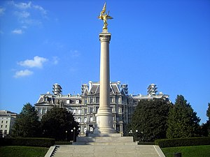 1st Infantry Division (United States) - The First Division Monument located in President's Park, Washington, D.C.