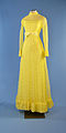 First Lady Betty Ford's lemon yellow polka dot gown.jpg