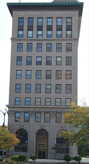 First National Bank Building (Davenport, Iowa) - Image: First National Bank Building (Davenport, Iowa)