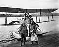 First international Airmail flight, 1919.jpg