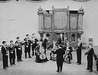 Moscow Chamber Orchestra - First performance on 2 April 1956, in the Moscow Conservatory Small Hall