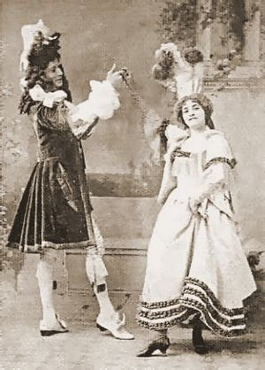 R. Scott Fishe - With Emmie Owen in  The Grand Duke, 1896