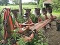 Five furrow plough - geograph.org.uk - 481532.jpg