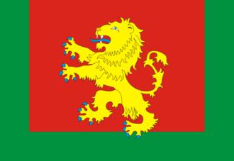 Rzhevsky District - Image: Flag of Rzhev rayon (Tver oblast)