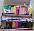 Flaggen Mexiko Deutschland Ecuador WM 2006 in Ludwigshafen.jpg