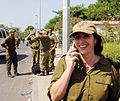 Flickr - Government Press Office (GPO) - IDF SPOKESPERSON BRIG. GENERAL MIRI REGEV DURING THE EVACUATION OF KFAR DAROM.jpg