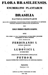 Flora Brasiliensis cover