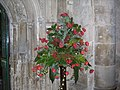 Flowers inside Gloucester Cathedral - geograph.org.uk - 609578.jpg