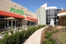 Floyd medical center entrance.png