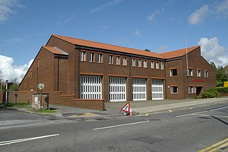 Kent Fire and Rescue Service - K19 - Folkestone Fire Station