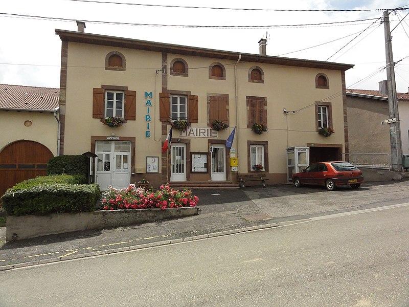 Fontenoy-la-Joûte (M-et-M) mairie