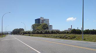 Fonterra - Te Rapa dairy factory north of Hamilton.