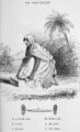 Foot roller drawing - Hand-book to the cotton cultivation in the Madras Presidency, 1836.png