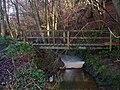 Footbridge, Ash Bourne - geograph.org.uk - 640857.jpg