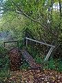 Footbridge near Brook House - geograph.org.uk - 1037904.jpg