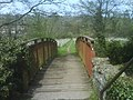 Footbridge over Midford brook - geograph.org.uk - 778113.jpg