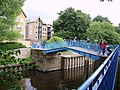 Footbridge over the Foss - geograph.org.uk - 886226.jpg