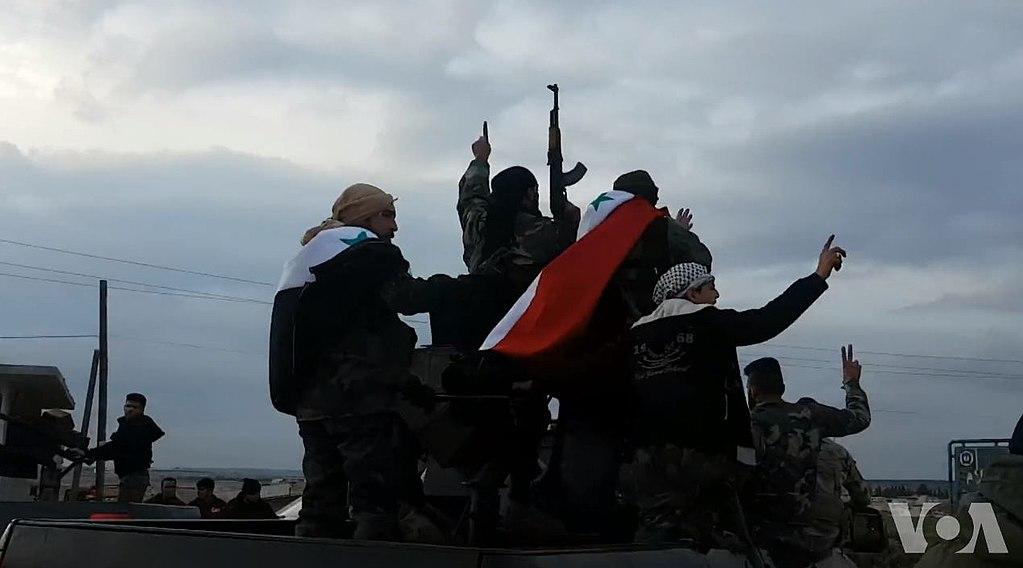 Forces pro-régime Afrine 20-02-18 (1)
