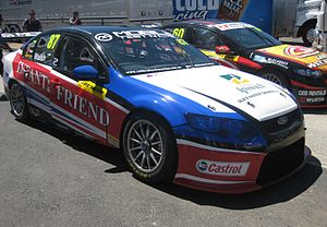 Ashley Walsh - Walsh placed second in the 2013 Dunlop Series driving this Ford FG Falcon for Matt Stone Racing