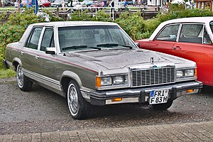 Ford Granada (North America) - 1982 Ford Granada GL sedan