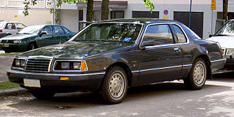 Ford Thunderbird (ninth generation) - 1983–1986 Ford Thunderbird