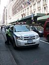 Ford hybrid SUV of the NYPD traffic enforcement.JPG