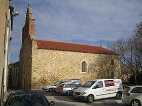L'église de Fourques