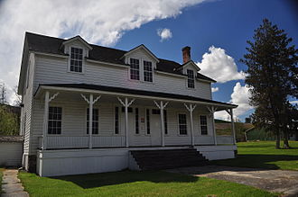 Fort Lapwai - Officers' quarters, Fort Lapwai