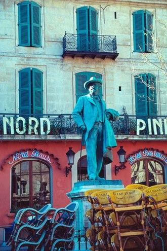 Frédéric Mistral - Statue of Frédéric Mistral in Arles.