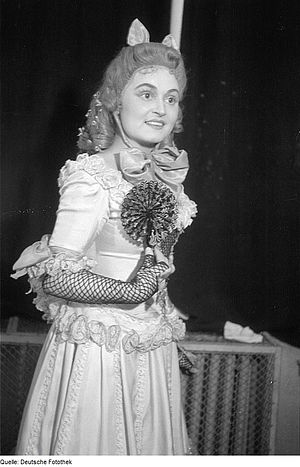 Rita Streich - Rita Streich as Olympia in The Tales of Hoffmann, 1946