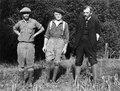 Från vänster, Professor Arthur Brodeur, Captain Andrew Turner - SMVK - 004552.tif