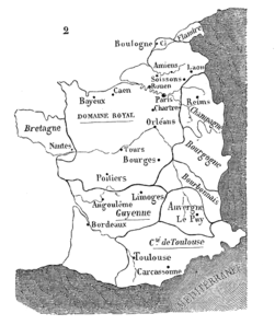 Map Of France In English.Atlas Of France Wikimedia Commons