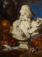 Allegorical Still Life with Bernini's Bust of Francis I d'Este